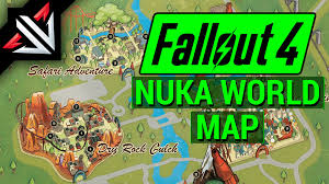 Fallout 2 World Map by Fallout 4 New Nuka World Dlc Map Locations Bethesda U0027s Nuka