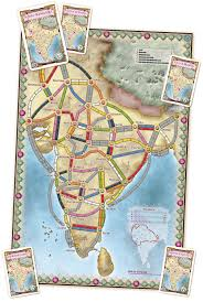 Bhopal India Map by Your Guide To Ticket To Ride Part 6 Ticket To Ride India