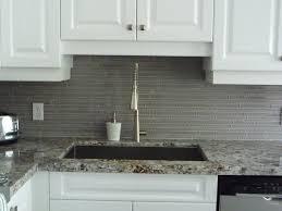 glass backsplash in kitchen interior grey glass backsplashes for kitchens with white wall