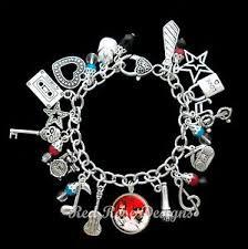 themed charm bracelet twenty one pilots themed charm bracelet 21 pilots ebay
