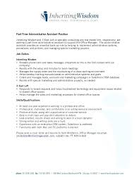 resume sles administrative manager job summary for resume administrative assistant description for resume
