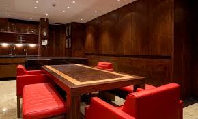 contemporary kitchen wood veneer mayfair robert timmons furniture