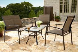 Oasis Outdoor Patio Furniture by Garden Oasis Harrison 4 Piece Steel Sling Deep Seating Outdoor