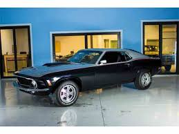 1970 Mustang Mach 1 Black 1970 Ford Mustang For Sale On Classiccars Com 124 Available