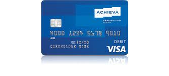 prepaid credit cards for kids achieva credit union