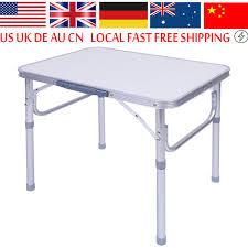 aluminum portable picnic table 1x aluminum alloy adjustable folding portable picnic table desk