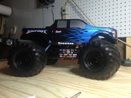 the bigfoot monster truck rod bigfoot chandler u2013 modified trigger king rc u2013 radio