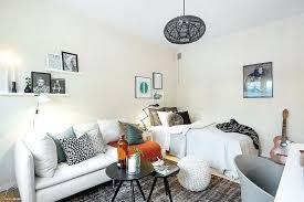 coin chambre dans salon salon pour petit espace petits espaces amacnager un coin chambre