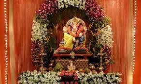 decoration themes for ganesh festival at home ganesh chaturthi decoration tips ideas ganpati decor theme pictures
