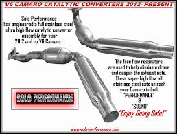 2012 camaro v6 review 2012 2015 camaro v6 high flow catalytic converters by performance