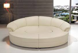 modern sofas sectionals sofa stunning round sofa sectional unique and circular curved