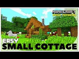 How To Build A Bookcase In Minecraft Minecraft How To Build A Small Survival House Tutorial Easy