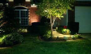 led yard lights low voltage landscape spotlights blinking