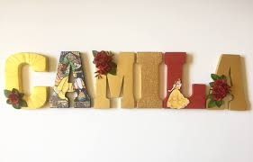 letter home decor beauty and the beast letters home decor party decorations
