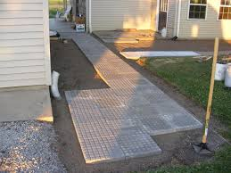 Cover Concrete With Pavers by Elegant Lowes Paver Patio 32 With Additional Diy Wood Patio Cover