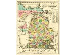 Cities In Michigan Map by How Each County In Michigan Got Its Name Mlive Com