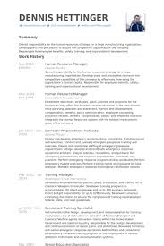 Senior Hr Manager Resume Sample Human Resource Manager Resume Samples Visualcv Resume Samples