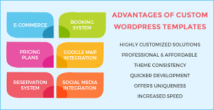 custom wordpress template strengthens your online presence