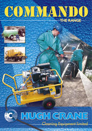 commando high power independently powered pressure washers by