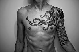 50 wonderful chest tattoos for