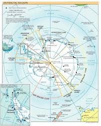 Southern Ocean Map Free High Resolution Map Of Antarctica