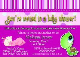 photo baby shower invitation template image