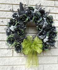 handmade wreath halloween décor ebay