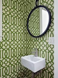 small bathroom wallpaper houzz