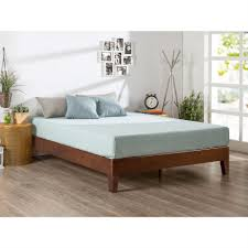 bedroom solid wood japanese style platform frame and modern