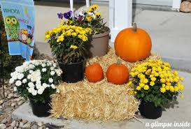hay bale fall decorating ideas iron blog