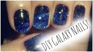 diy galaxy nails thatssociciyo youtube