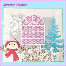 Cutting Dies For Card Making - aliexpress com buy surprise creation cutting die fence hdd1622