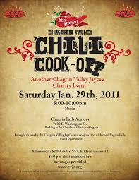 chili cook off flyer template free printable wow com image