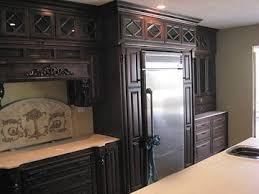 Glass Inserts For Kitchen Cabinets by Glass Door Inerts Kitchen Cabinets Darryn U0027s Custom Cabinets
