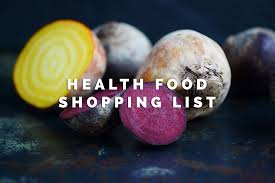 Winter Root Vegetables List - health food shopping list by liora bels