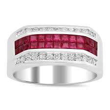 pave mens ring diamond and ruby 3d printable 41 best mens ruby rings images on mens ruby rings