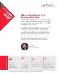 dangerous goods report vol 8