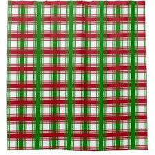 Green Plaid Shower Curtain Best Plaid Shower Curtain Products On Wanelo
