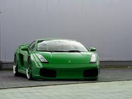 Lamborghini Gallardo Lime Green - green posts
