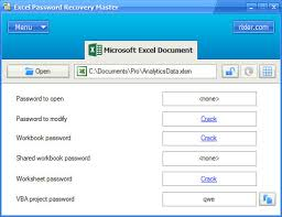 excel password recovery master free download ms excel password