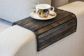 Tray Table For Ottoman by Pick Out Unique Sofa Tray Table And Enjoy Your Coffee By Liplap