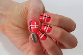 easy two color nail designs gallery nail art designs