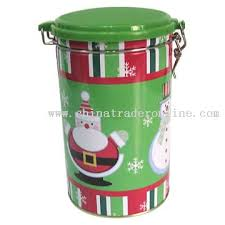 christmas tins wholesale wholesale christmas tins with a plastic lid buy discount