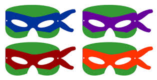 ninja turtle mask template printable
