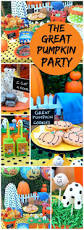 halloween carnival party ideas pumpkin checkers and tic tax toe so cute october halloween