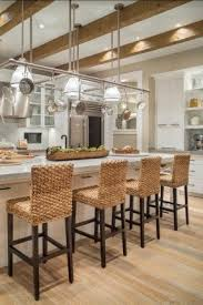 kitchen island with hanging pot rack kitchen island pot rack lighting foter