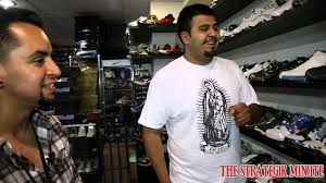Second Hand Stores Downtown Los Angeles Rif Jordan Retro Shoe Store Downtown Los Angeles Youtube