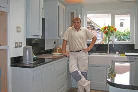 Paint For Kitchen Cabinets Uk Painted Kitchen Specialist Neil Callender Decorating