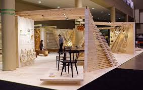 tario Wood Booth Design at IDS17 in Toronto Interior Design Show