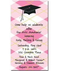 pink slim graduation invitations myexpression 15168